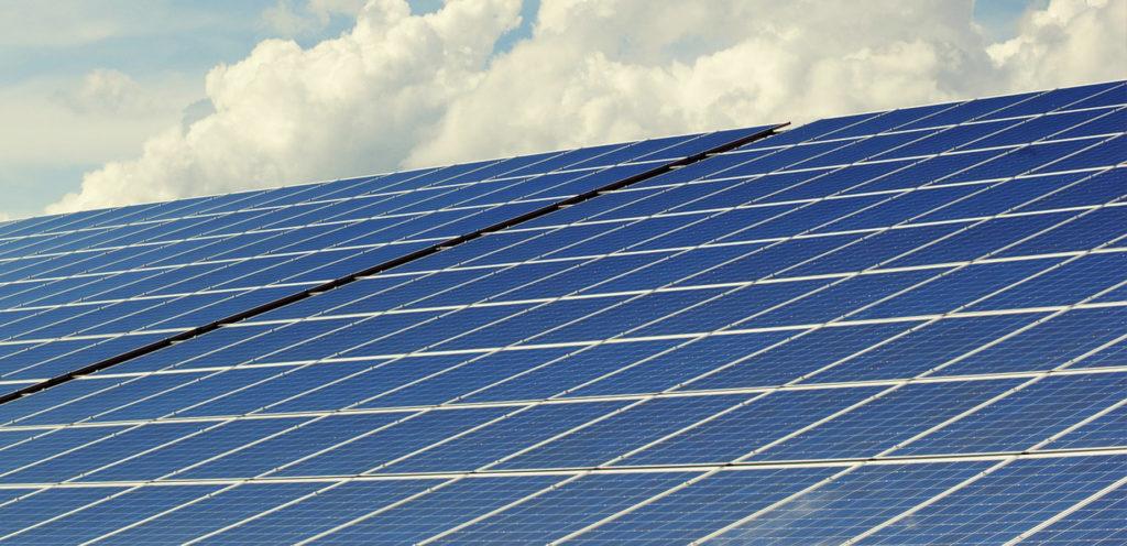Reinigung von Solaranlagen